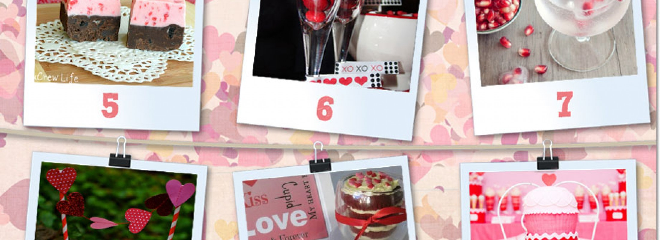 Creative Valentine's Sweets and Favors.