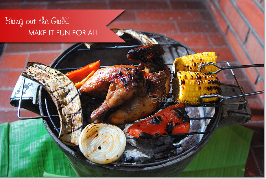 Father's Day BBQ Grill with Chicken and Vegetables | The Party Suite at Bellenza