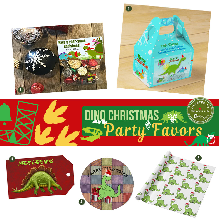 Dinosaur Christmas Theme Party: From Decor to Favors
