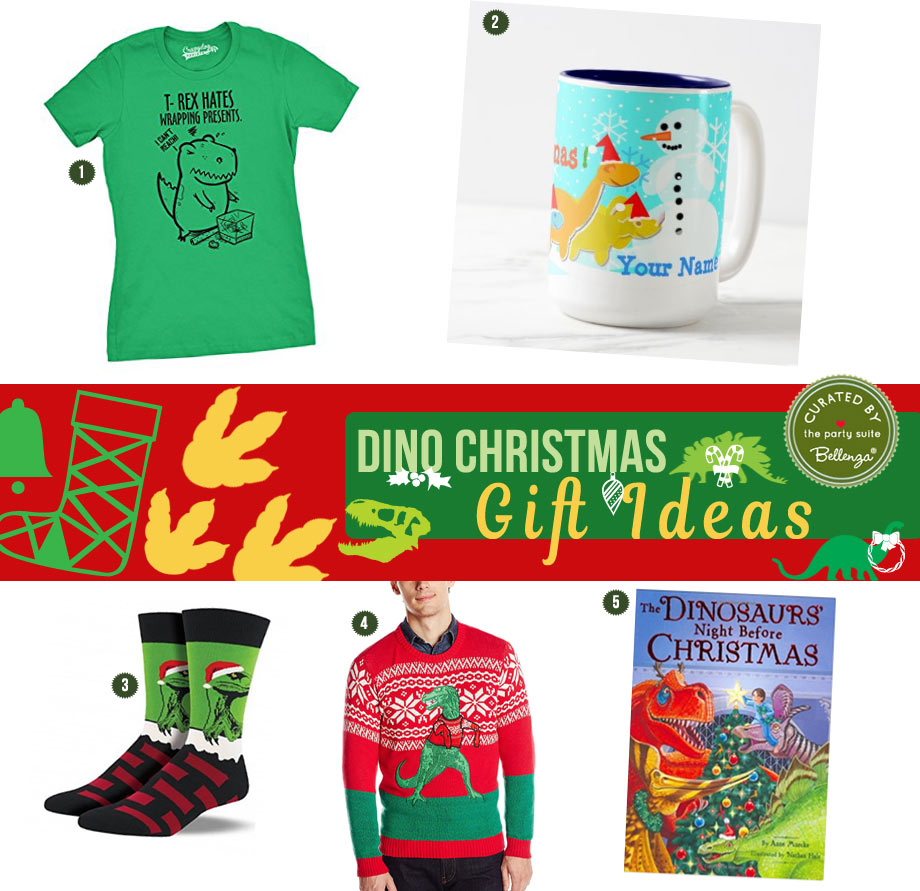 Dino Christmas Gifts for Everyone!