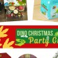 Dinosaur Christmas Theme Party Guide by Bellenza.