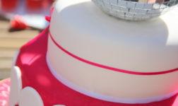 Disco Ball Cake via via Emma Townsend Cakes