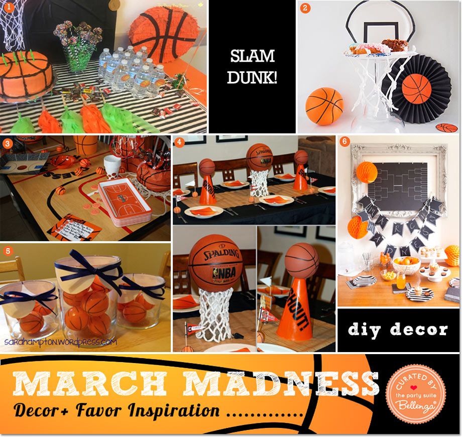 diy March Madness Decorations