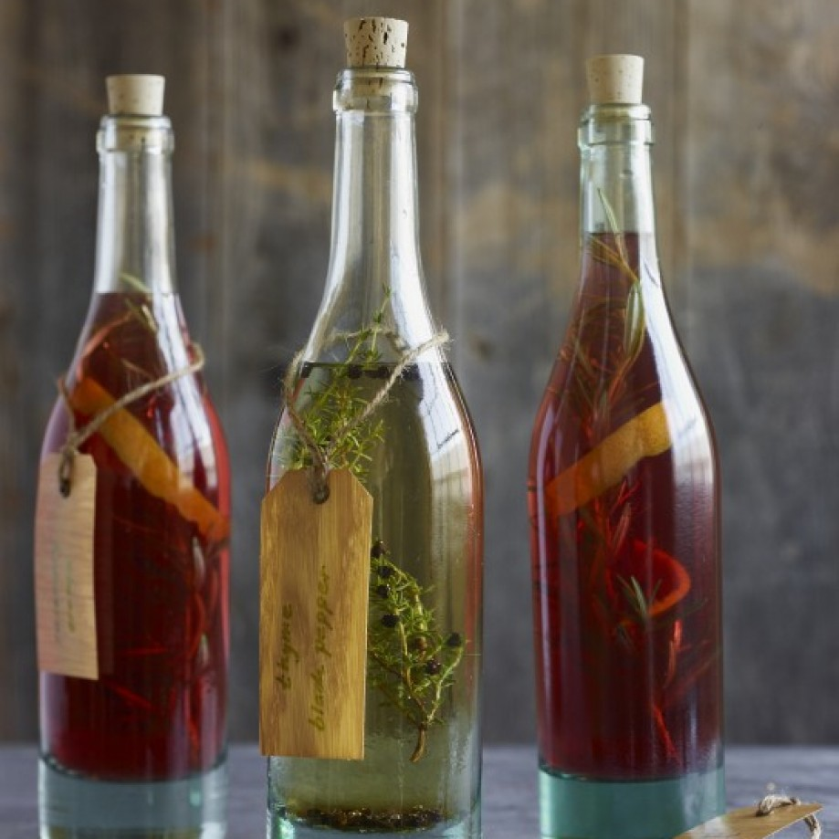 Vinegar salad dressing. Photo by Williams-Sonoma.