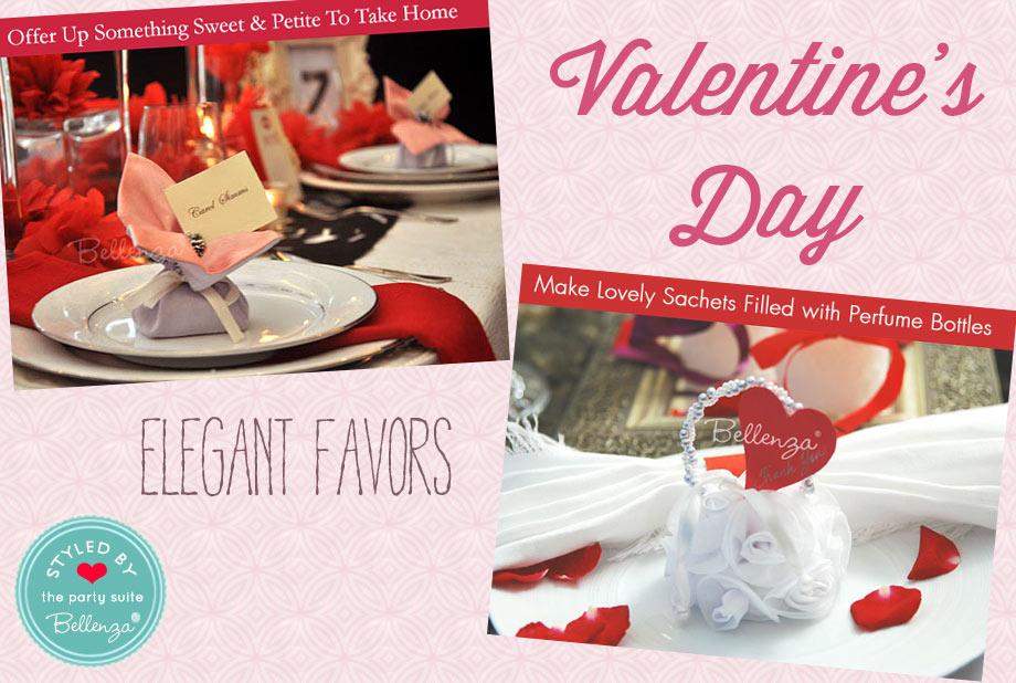 Elegant Valentine's Favors