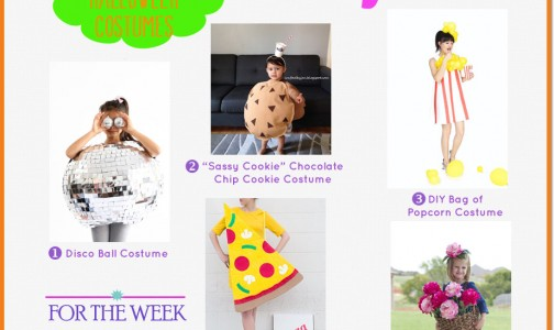 DIY Halloween Costumes! SO cute! From PIzza to Disco Ball!