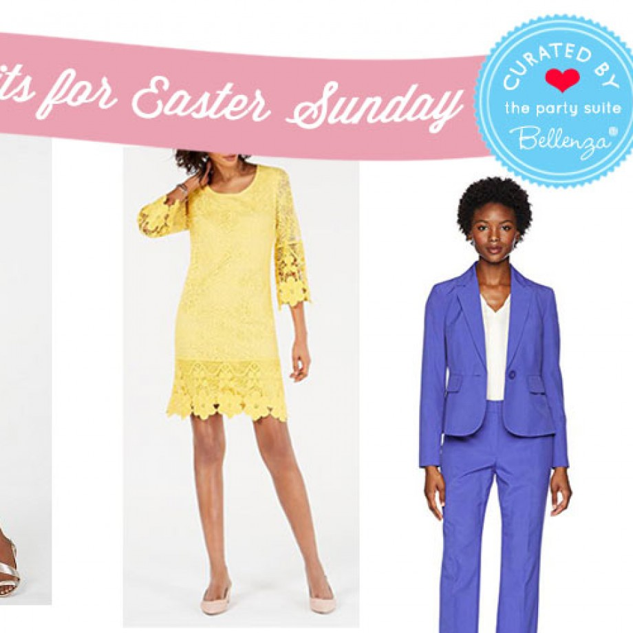 Pretty Outfits for Easter Sunday with Floral Dresses & Pastel Pantsuits