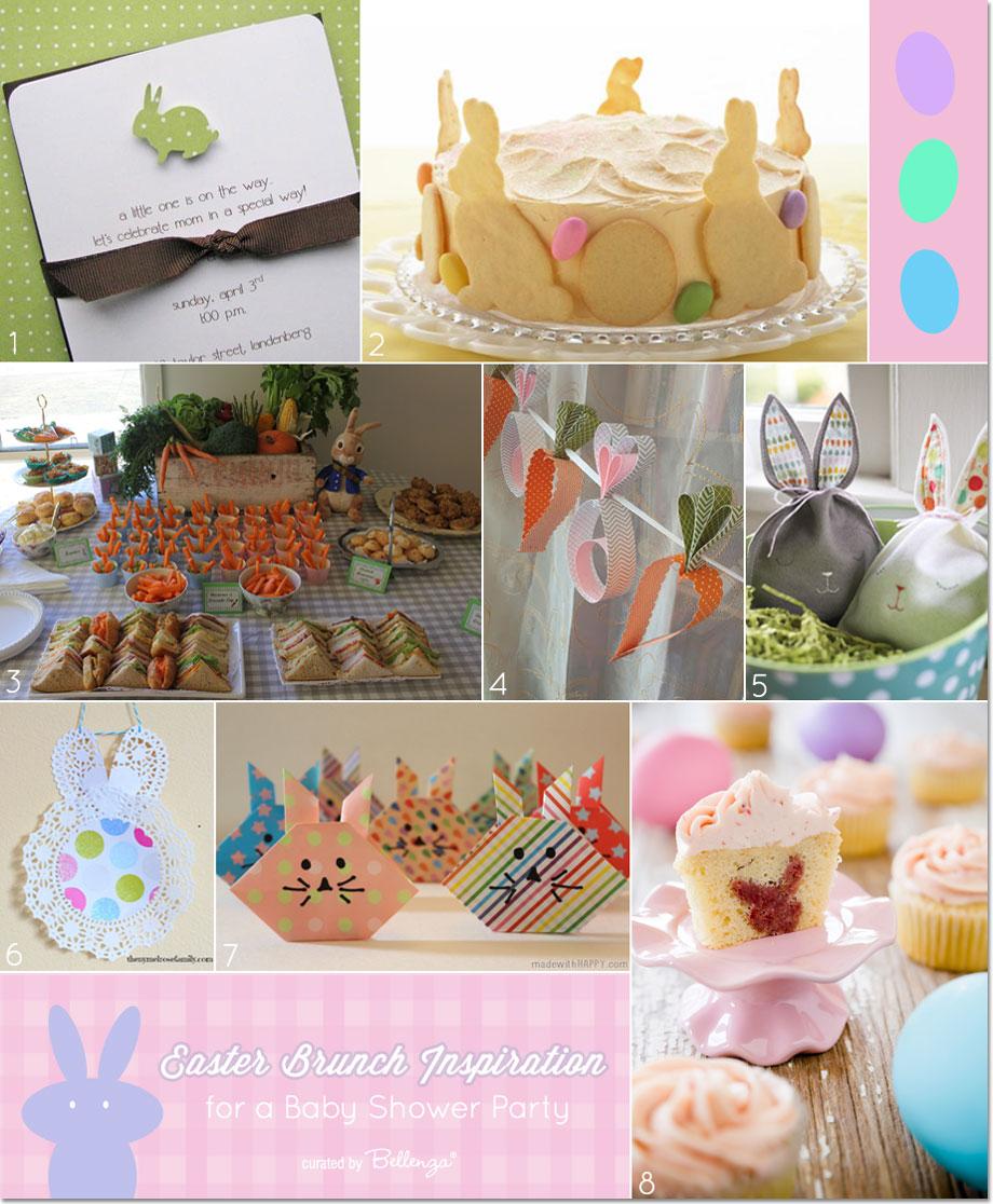 Easter Brunch Inspiration for a Springtime Baby Shower