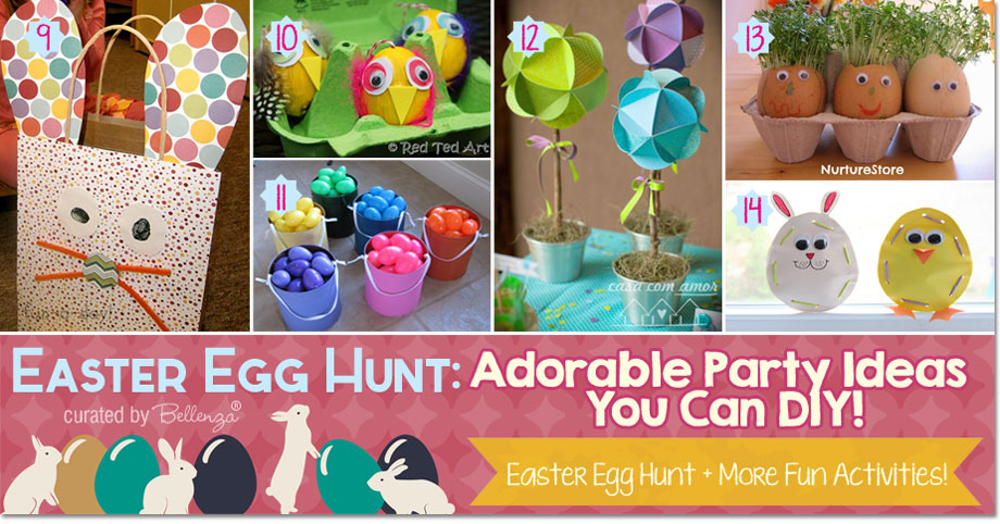 Easter Egg Hunt. Adorable Party Ideas You Can DIY