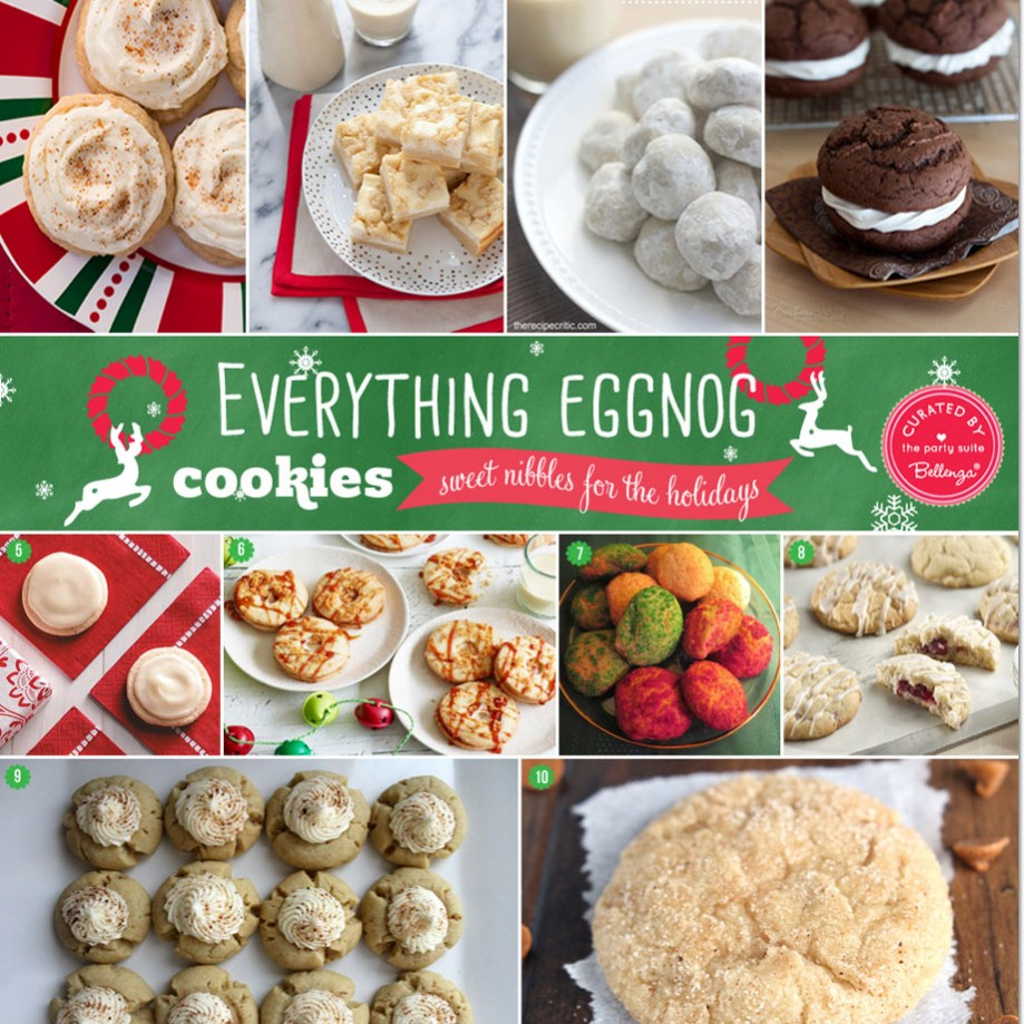 10 Eggnog Cookie Recipes You Must Try   as Featured on the Party Suite at Bellenza