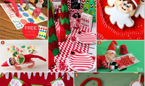 Holiday Party Planning Made Easy With an Elf on the Shelf Theme!
