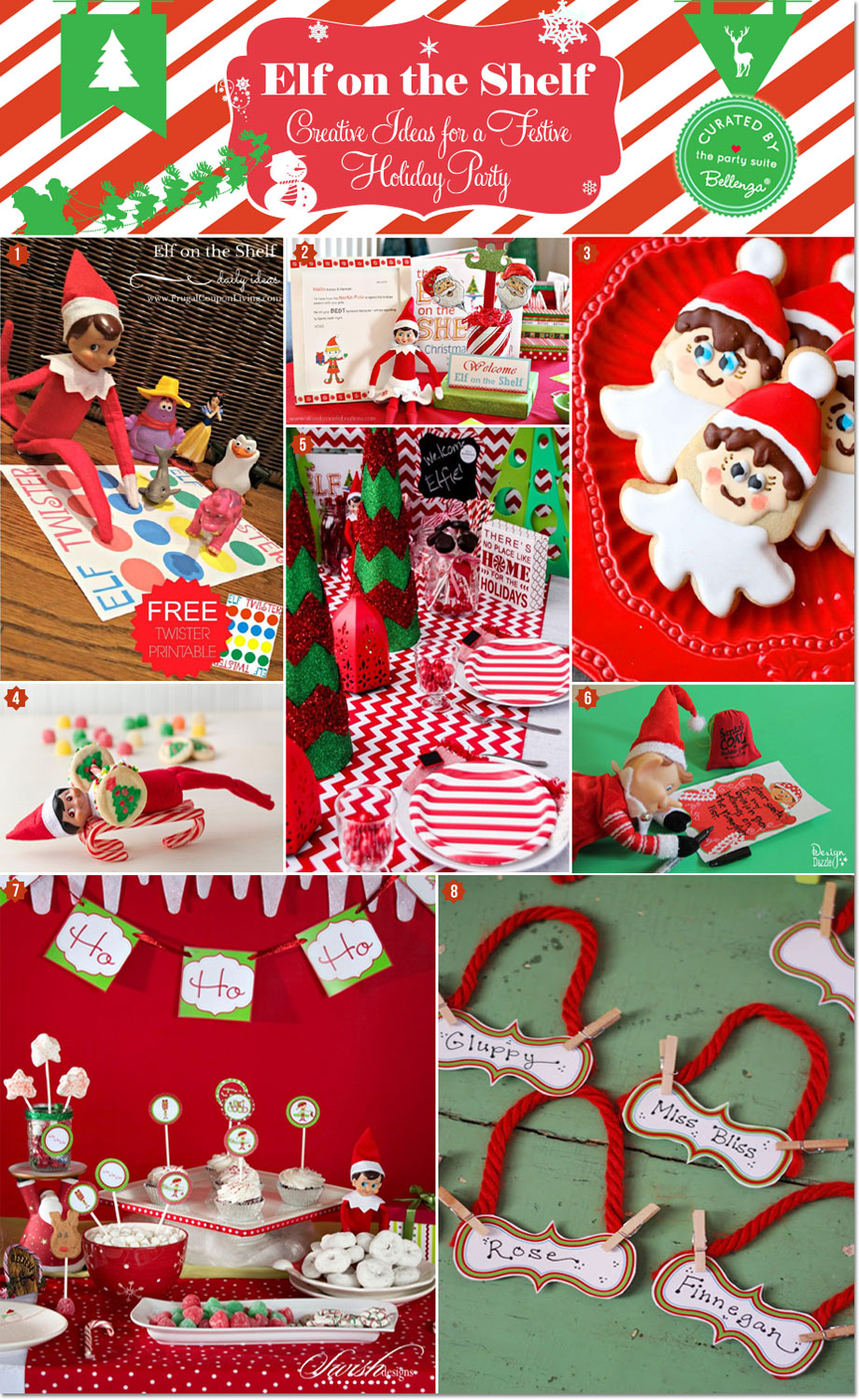 Christmas 1st Birthday Party Ideas Part - 41: Holiday Party Planning Made Easy With An Elf On The Shelf Theme!