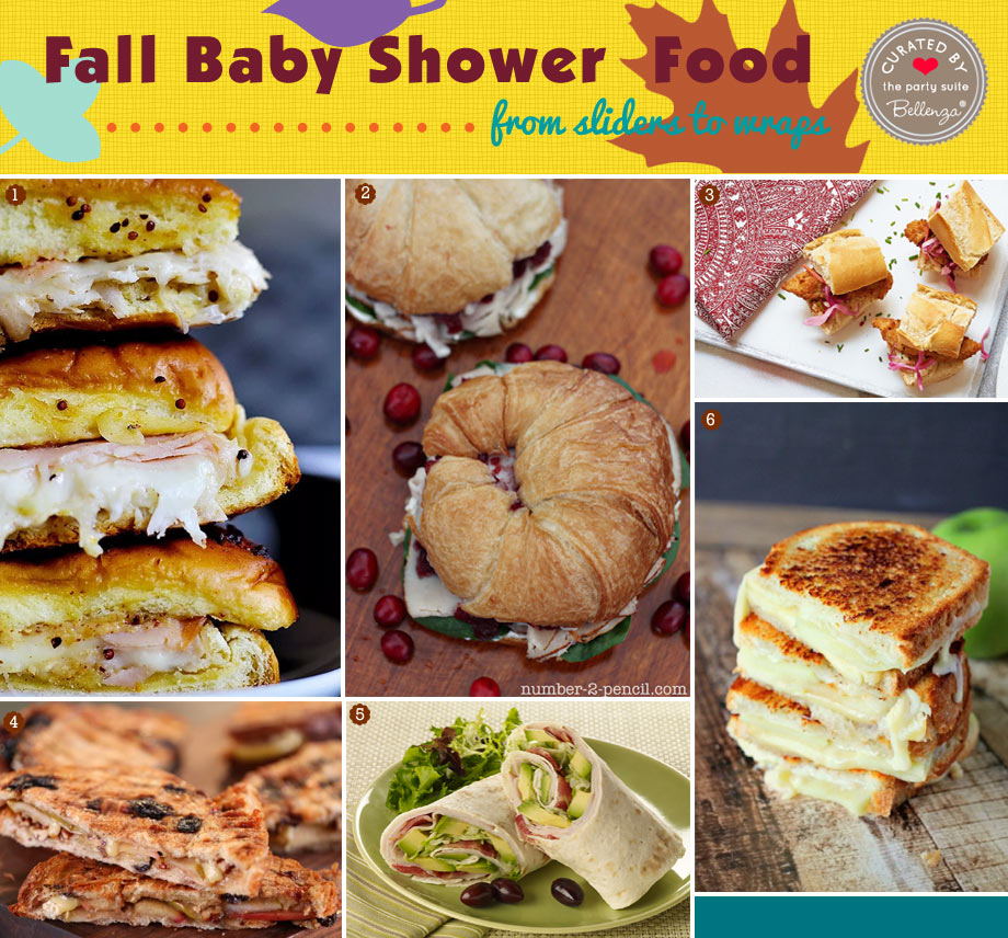 Fall-inspired Sandwiches Recipe