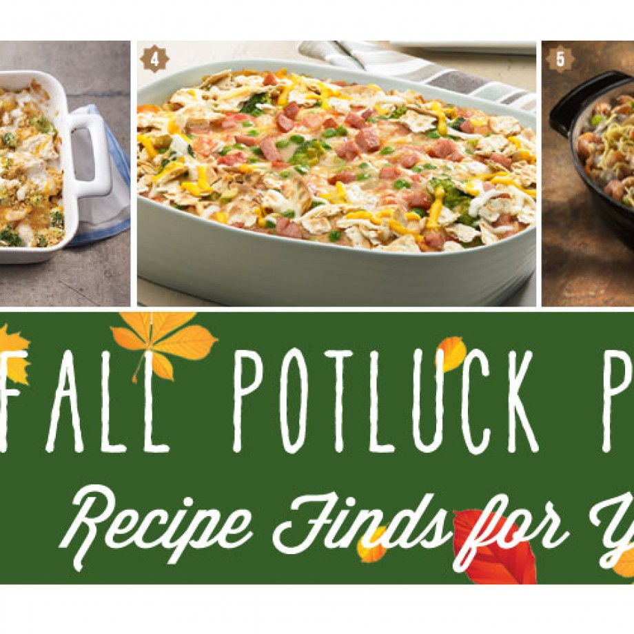 Fall Potluck Party with Easy Recipes