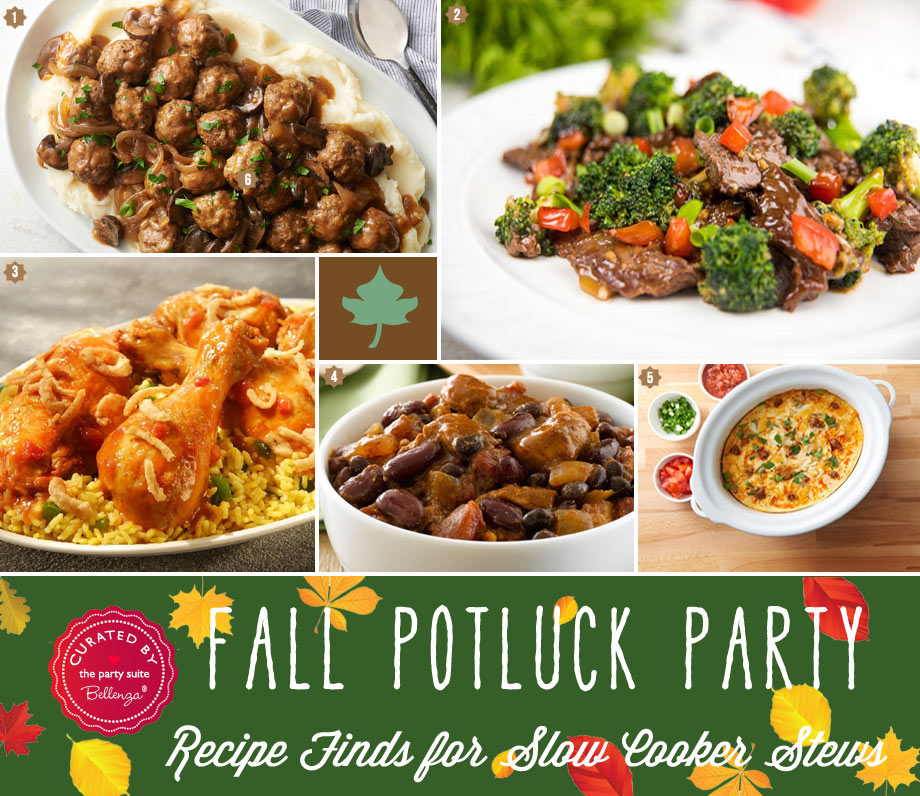 fall potluck stews like chicken chili
