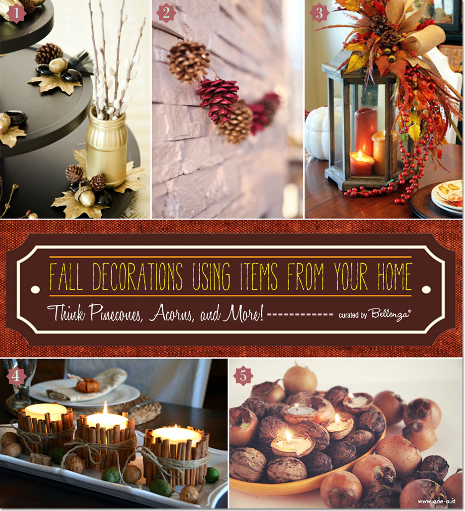 10 Homemade Fall Decorations Using Items from Your Home