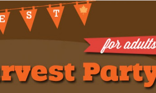 It's a Fall Harvest Themed Birthday Party for Adults!