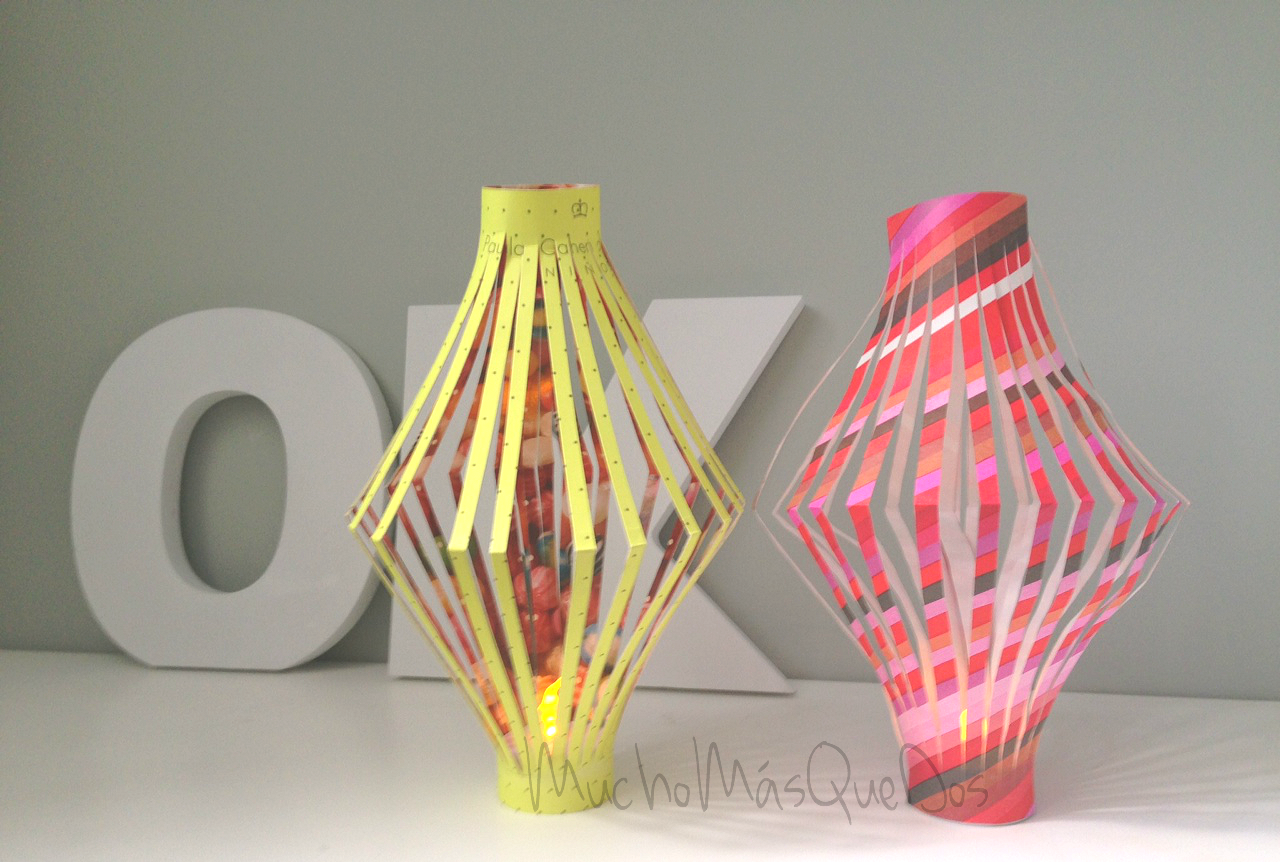 Spanish lanterns tutorial via Handbox.