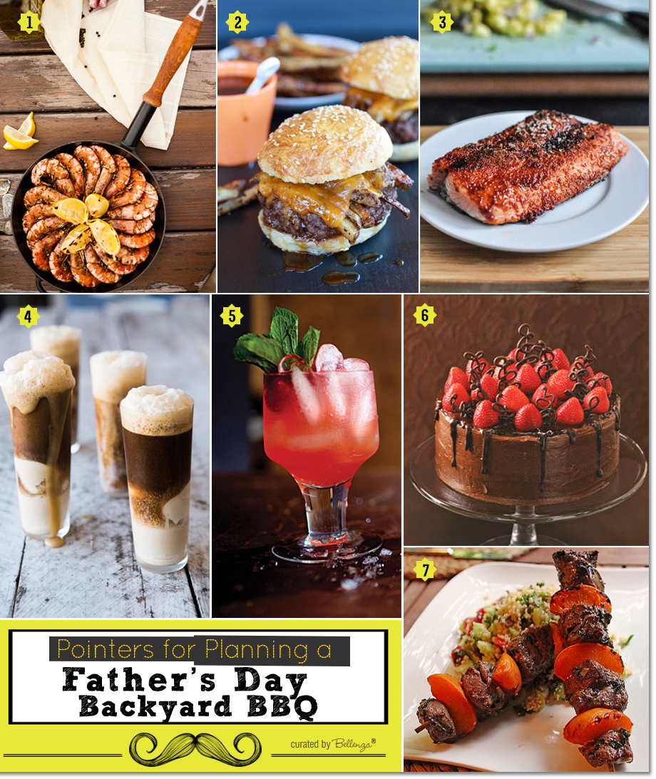 Fathers Day BBQ Menu Ideas From Burgers To Ice Cream Floats