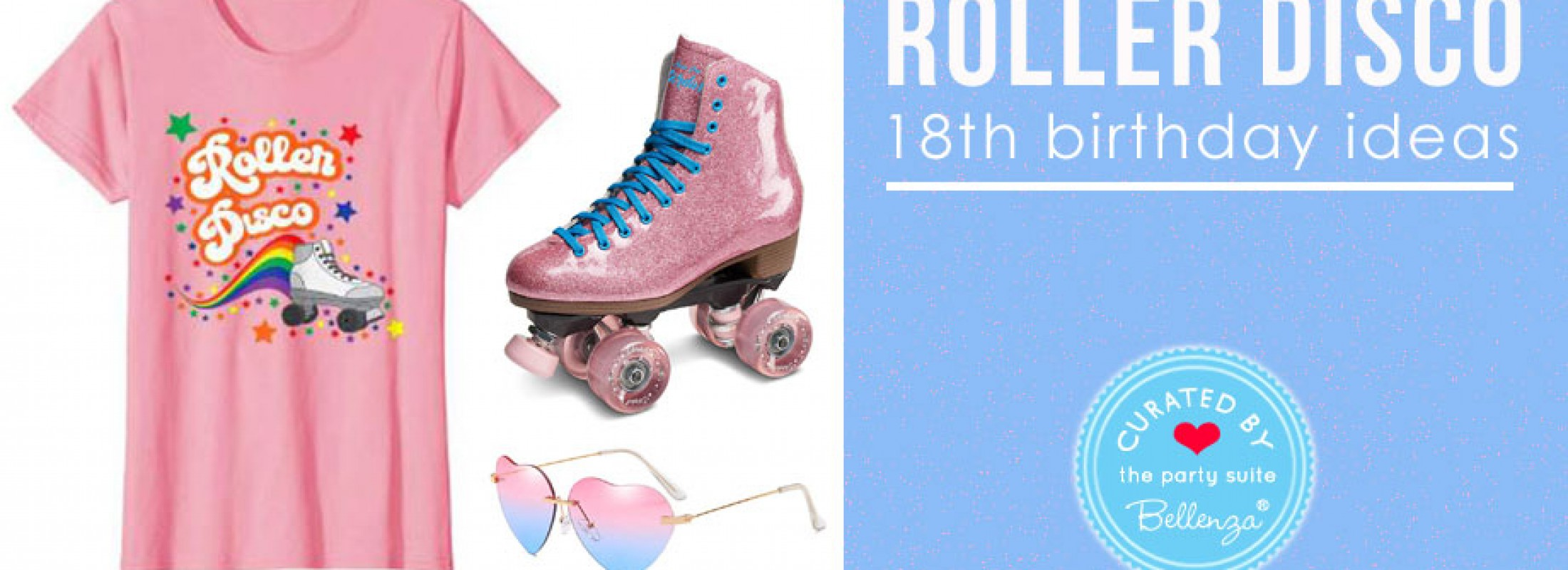Disco Roller Skating 18th Birthday Party!