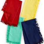 5 - Fiesta fringed napkins