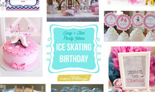 Ice Skating Themed Pre Teen Birthday Par