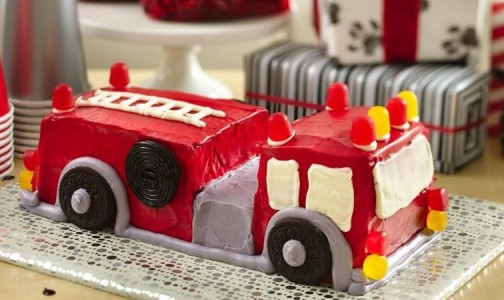 Fire Engine Cake by Betty Crocker.