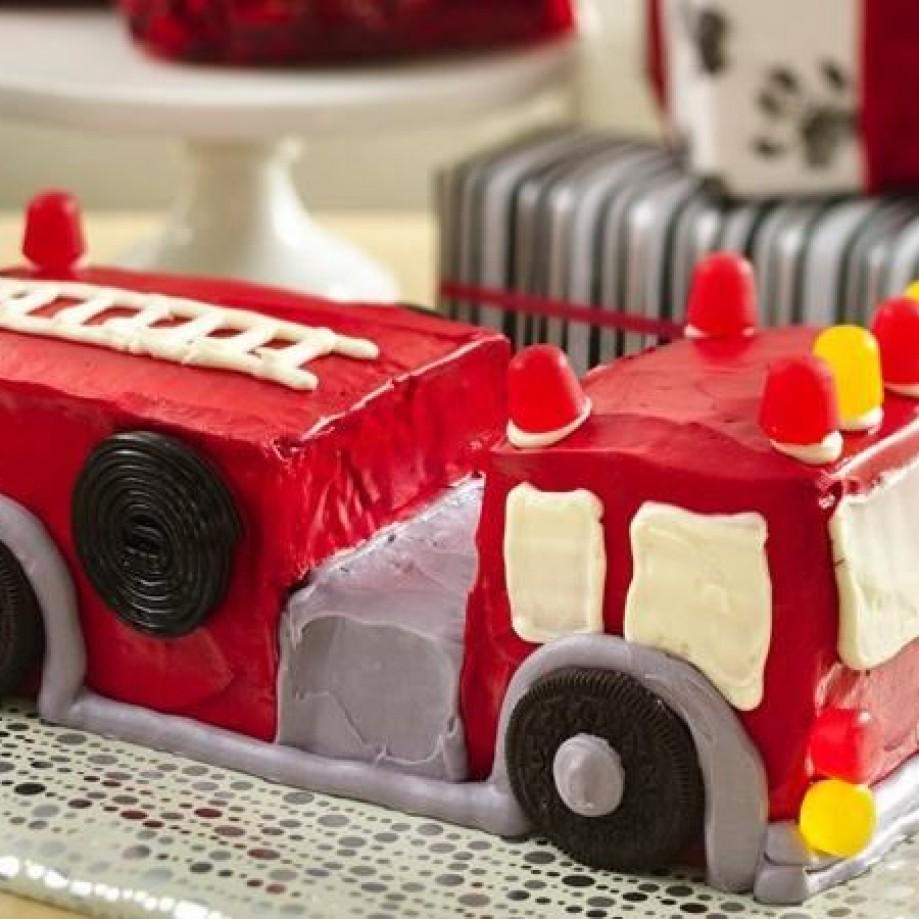 Fire Engine Cake by Betty Crocker.