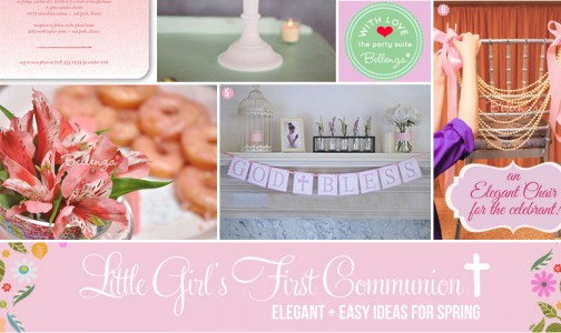 First Communion for GIrl Ideas for SPring