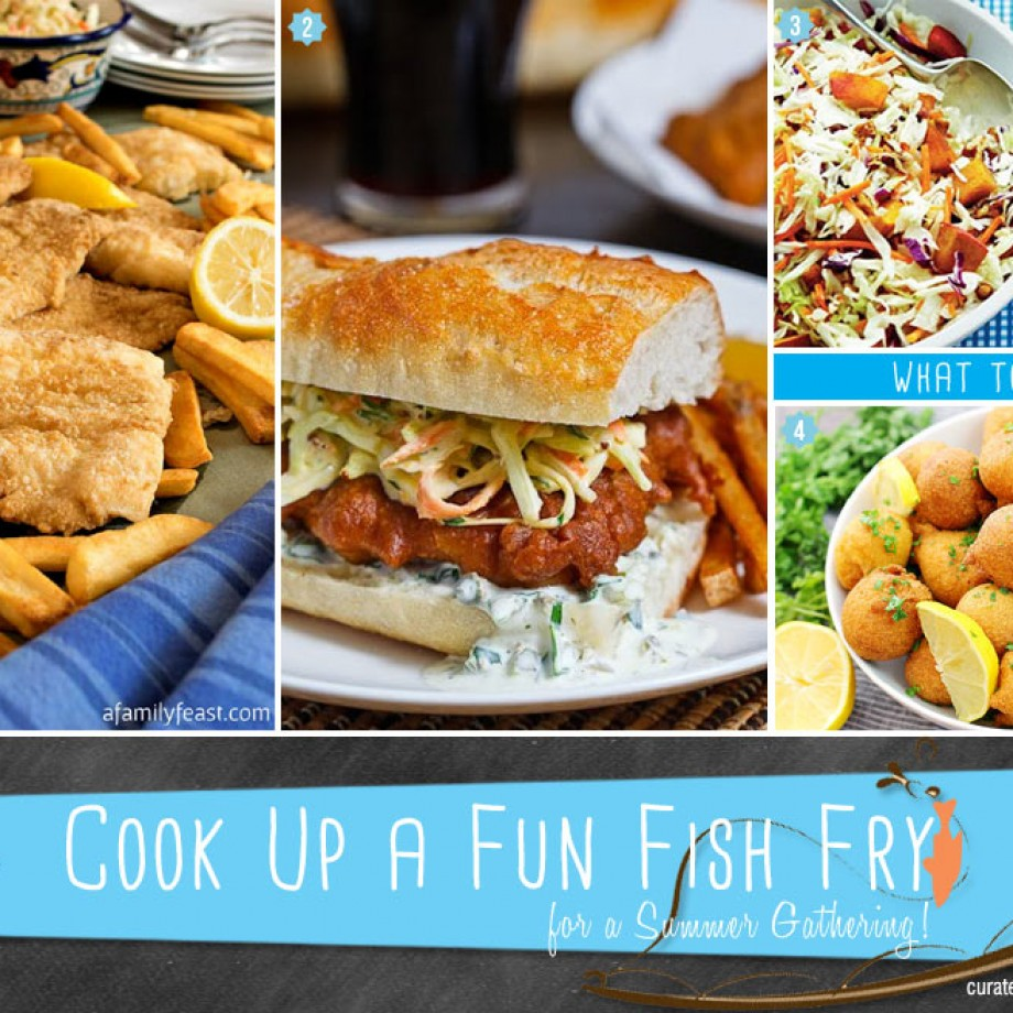 Fish fry summer party ideas