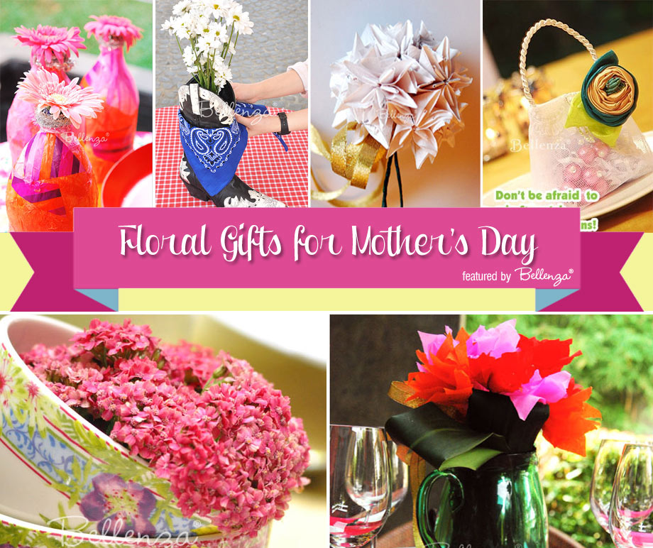 Floral-inspired gifts to make for mom.