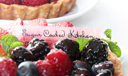 Fresh berry tarts via Sugar Coated Kitchen