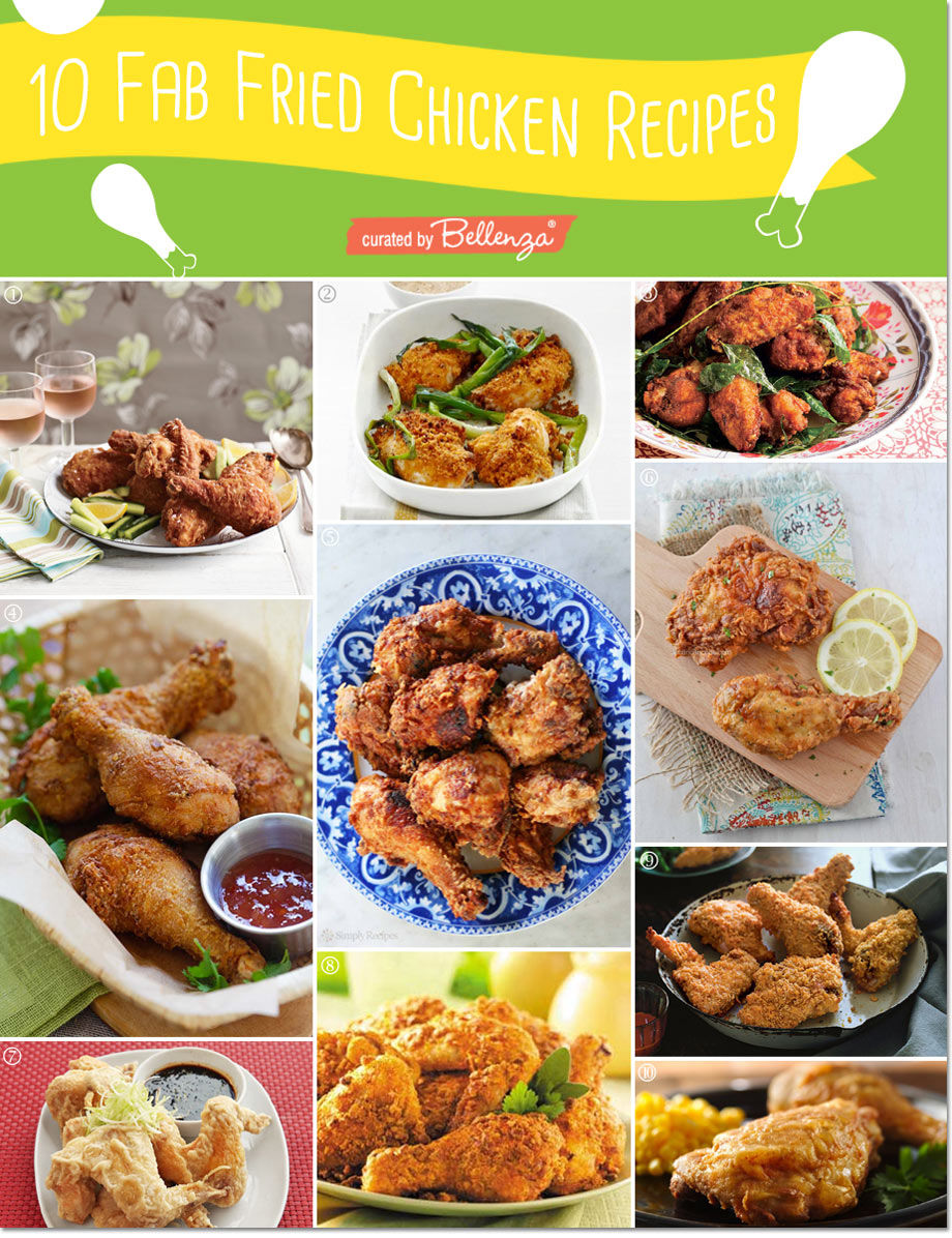 Tips and recipes for a fried chicken summer party!