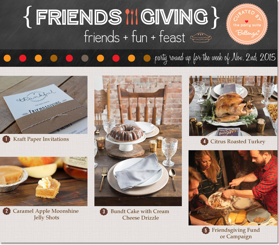 Ideas for a Chic and Simple Friendsgiving Party