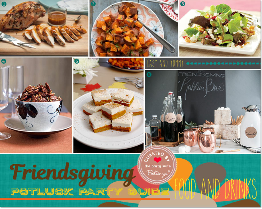 Potluck Dishes, Desserts and Drinks Ideas