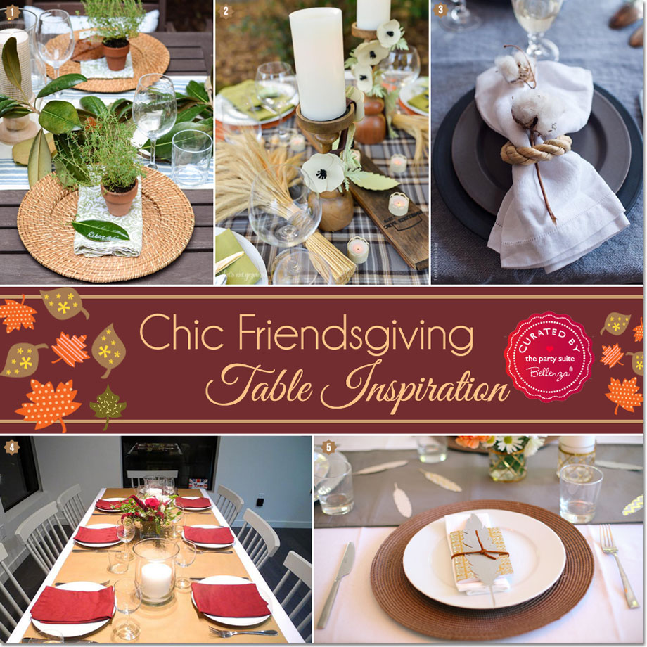 Friendsgiving table ideas that are chic!