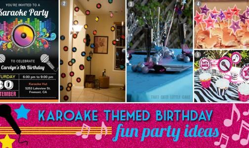 Glam Karaoke Popstar Pre-teen Birthday