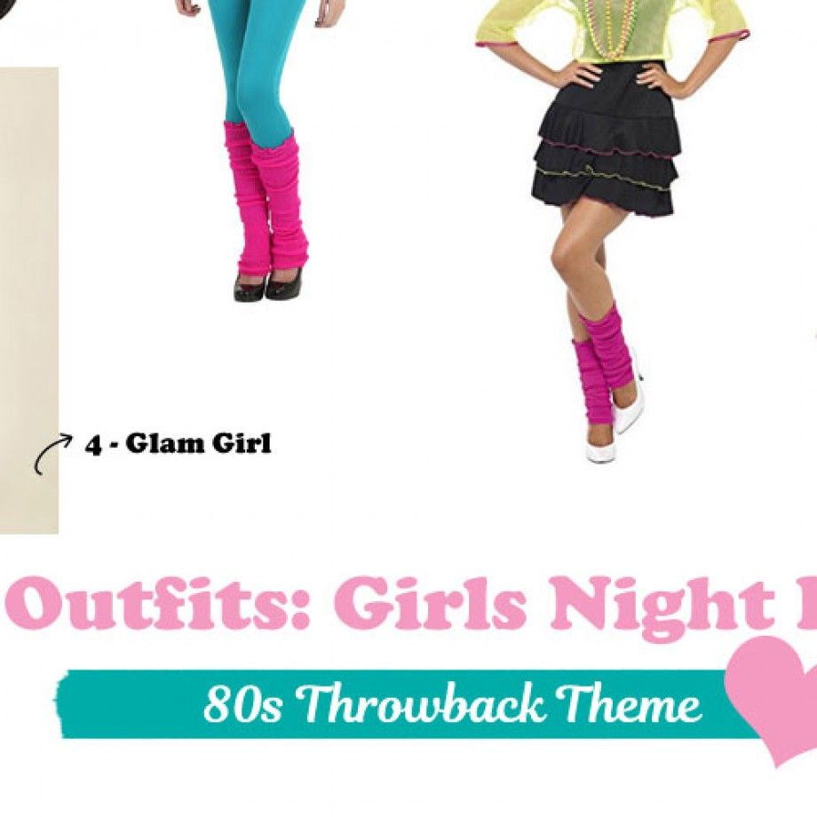 Fun 80s Party Outfits for a Girls Night In