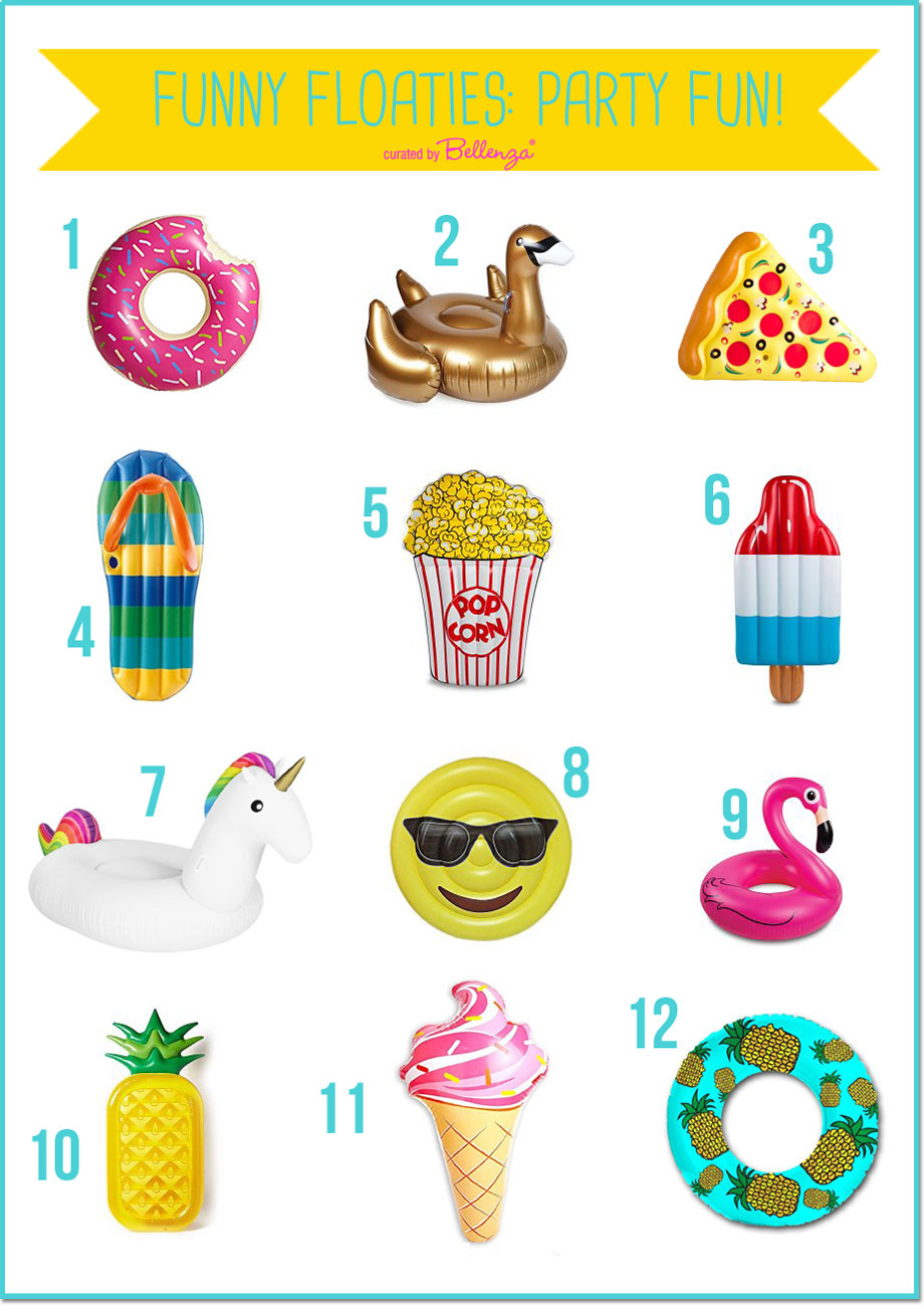 12 of The Cutest Pool Floaties to Laze About in At Your Next Summer Party