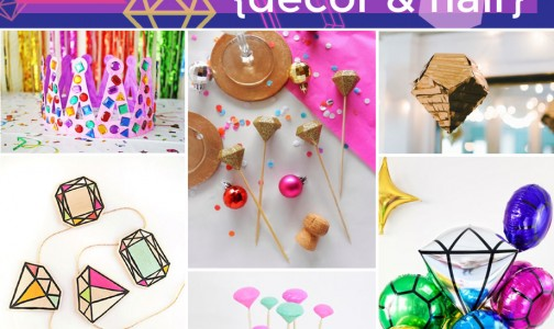Gems and Jewels Party Crafts for Decorations, Edibles, and Favors