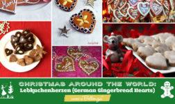 Christmas Around the World Lebkuchenherzen (German Gingerbread Hearts)