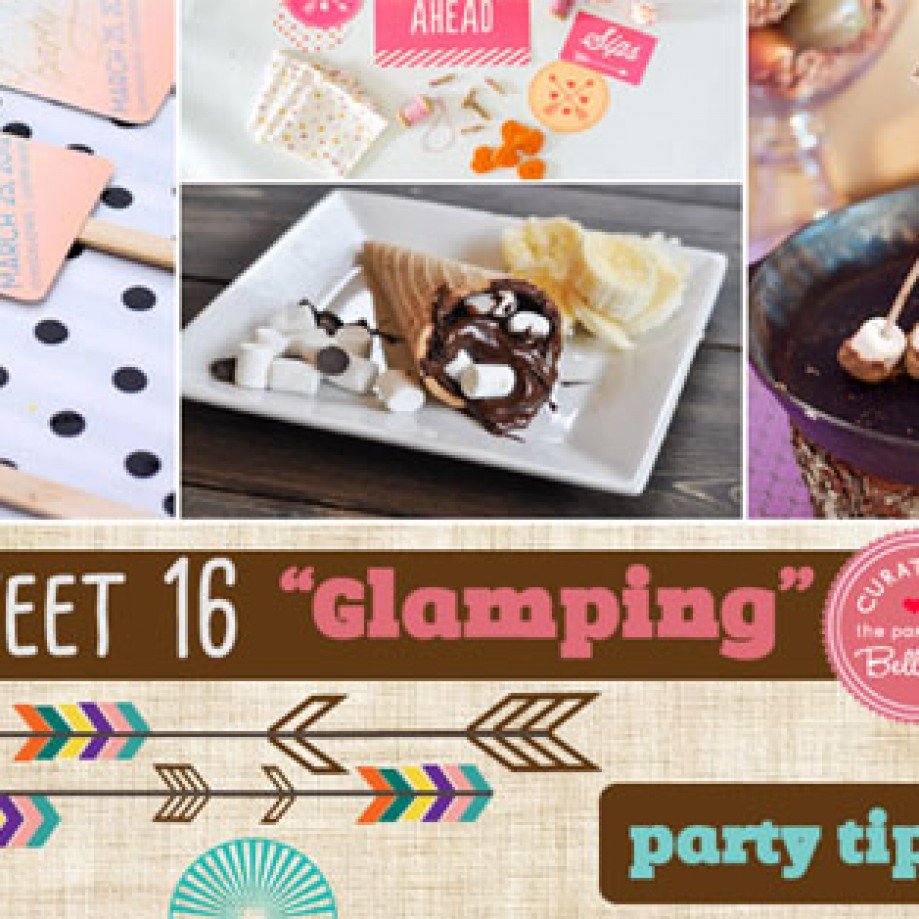 sweet 16 themes archives unique party ideas from the party suite sweet 16 glamping 12 cool ways to plan a camp themed sleepover