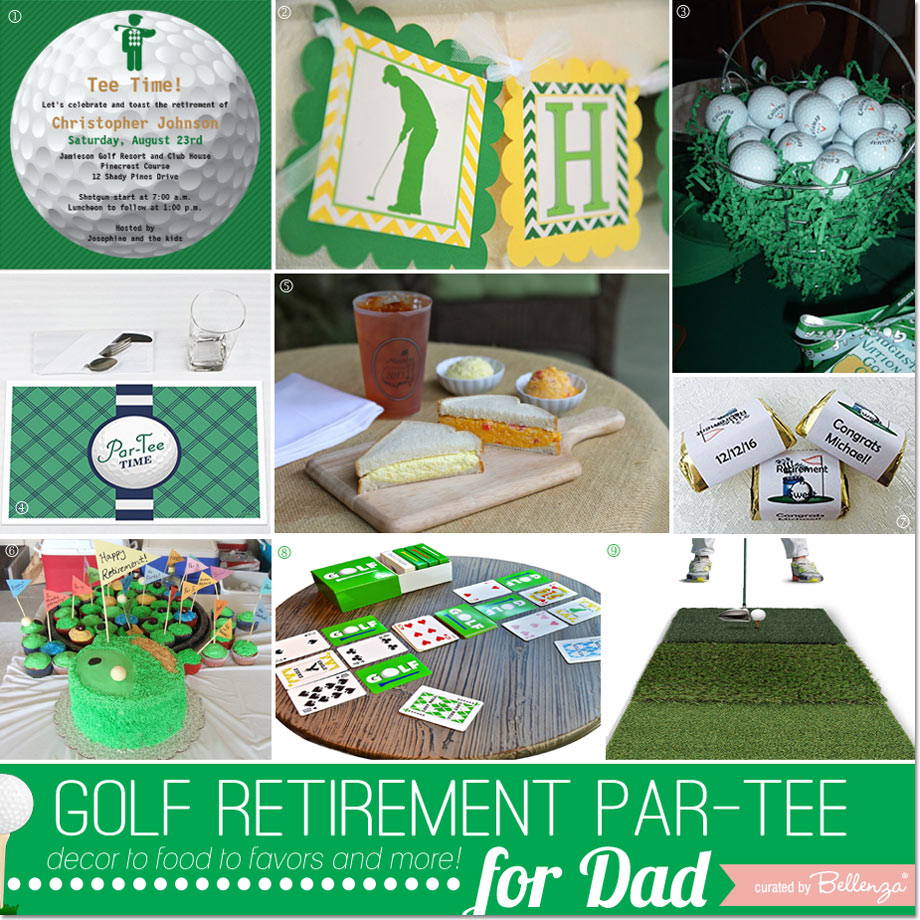 Retirement Party- Golf Themed Party for Dad.