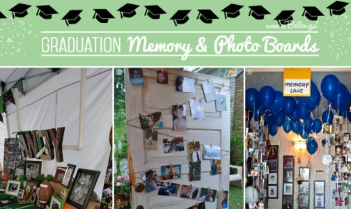 Grad Memory Display and Photo Ideas