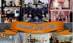 6 Halloween Desserts Tables Featuring Cool Styles for Setting Up Your Own!