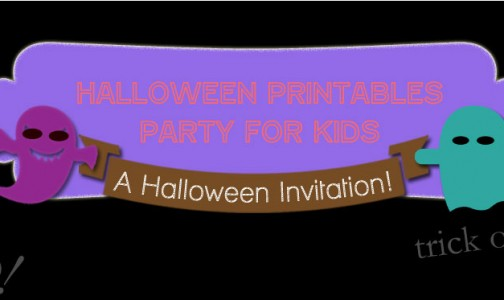 Halloween Printables Party for Kids Hosted by Bellenza!