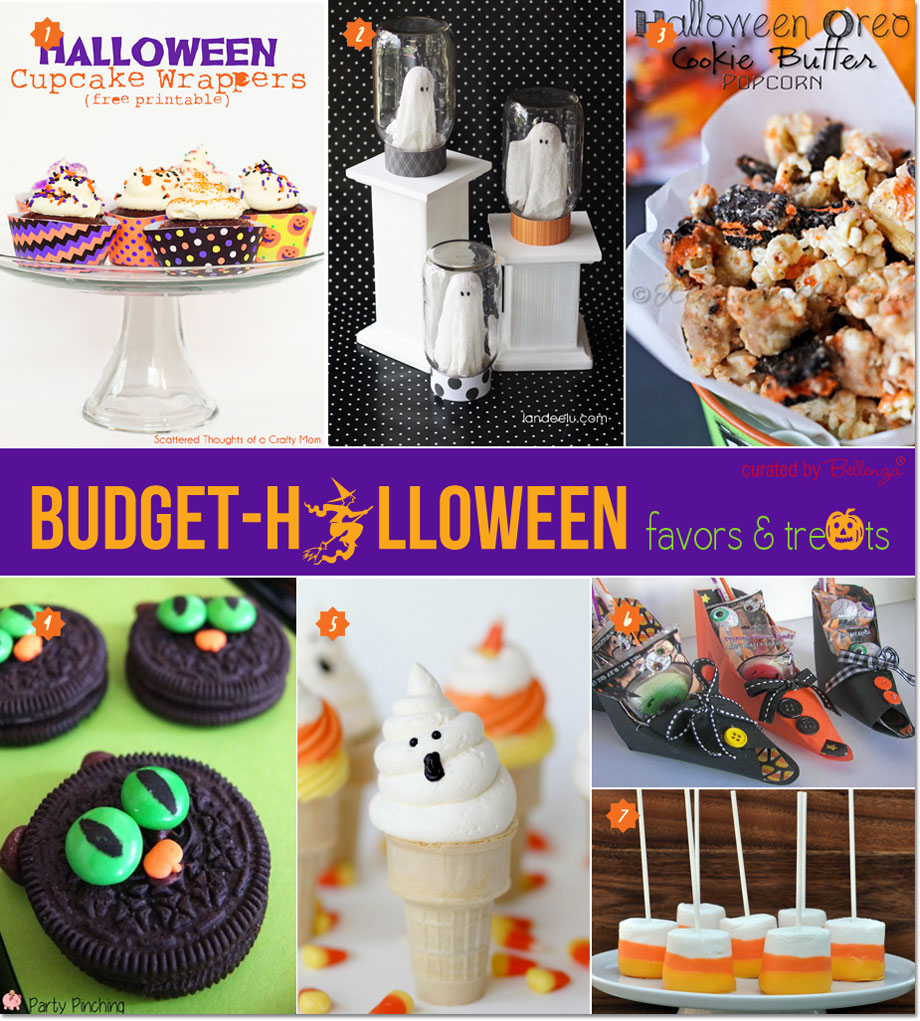 Spooky Halloween Treats and Favors ona Budget | as featured on the Party Suite at Bellenza