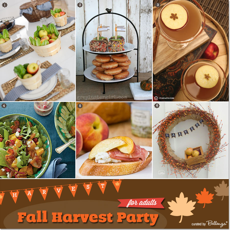 Fall Harvest Themed Birthday Party for Adults