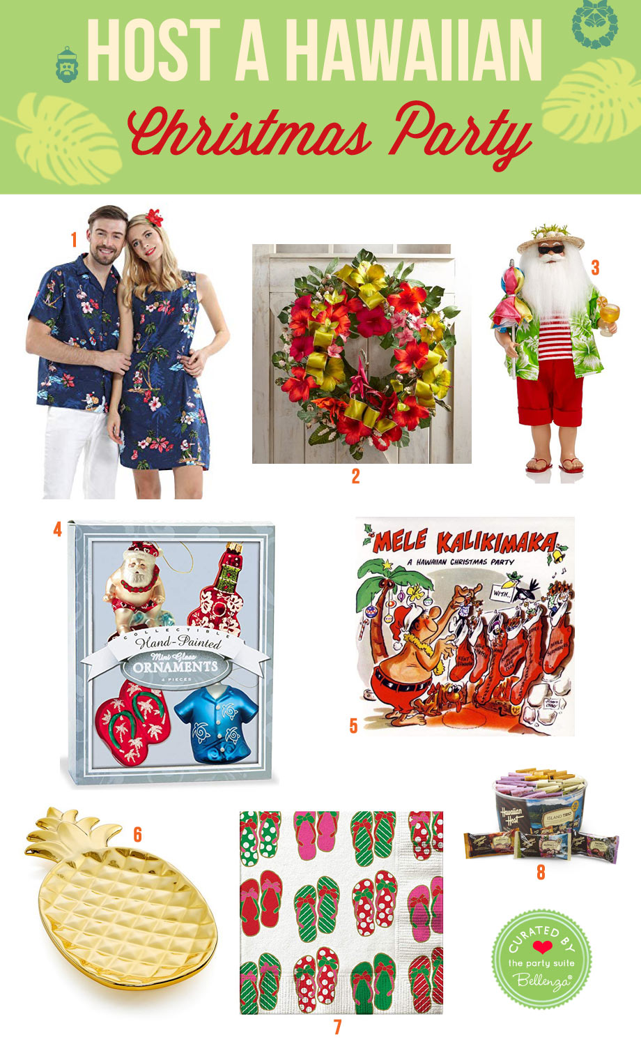 Hawaiian Christmas Party Theme