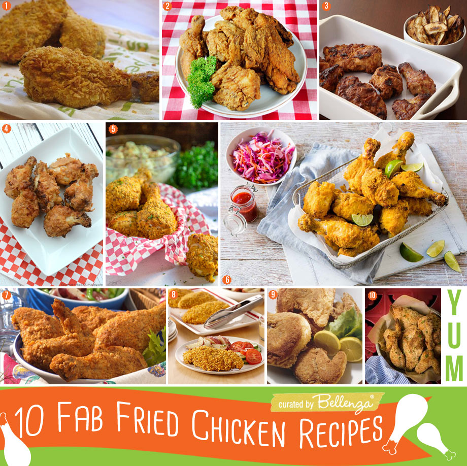 Healthier options for Fried Chicken